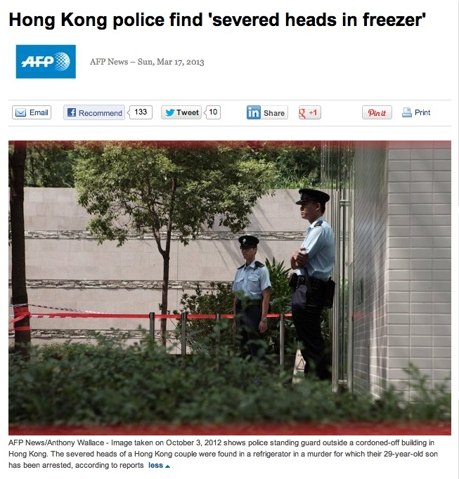Murder in HK