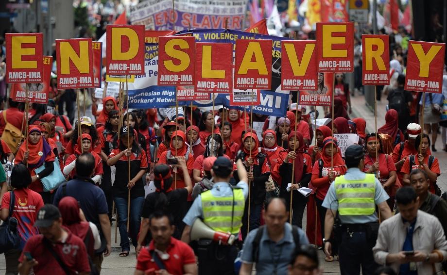 HONG KONG-LABOUR-MAY DAY